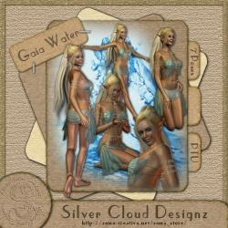 Gaia Wasser Poser-Set
