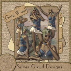 Gaia Wind Poser-Set