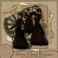 Poser Steampunk-Lady Bella