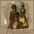 Poser Steampunk-Lady Layla
